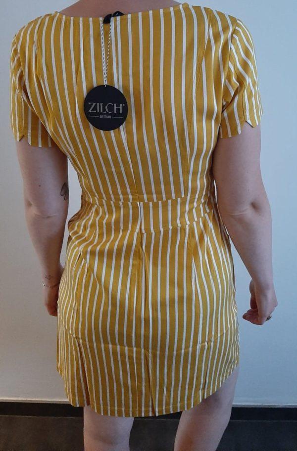 Retro-kleding-dress honey model back ZILCH