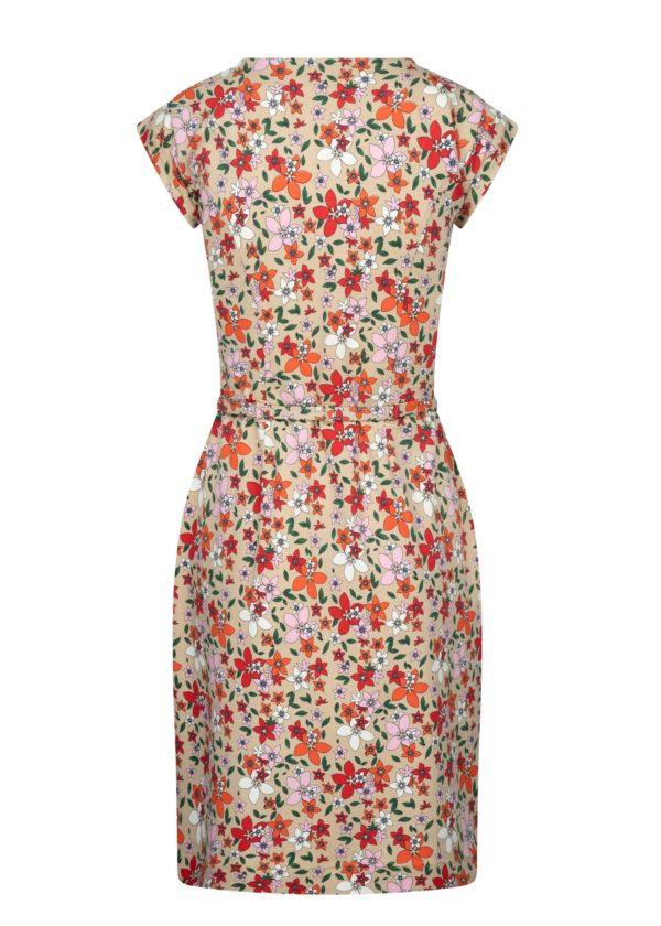 Retro-kleding-jurk met bloemenmotief 4funkyflavours