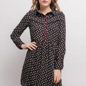 lovieco-retro-jurk-zwart-voorkant