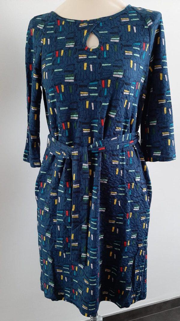 whosthatgirl-retro-jurk-blauw-voor
