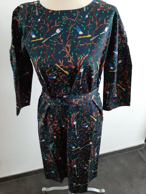 wowtogo-retro-jurk-donkerblauw-voor