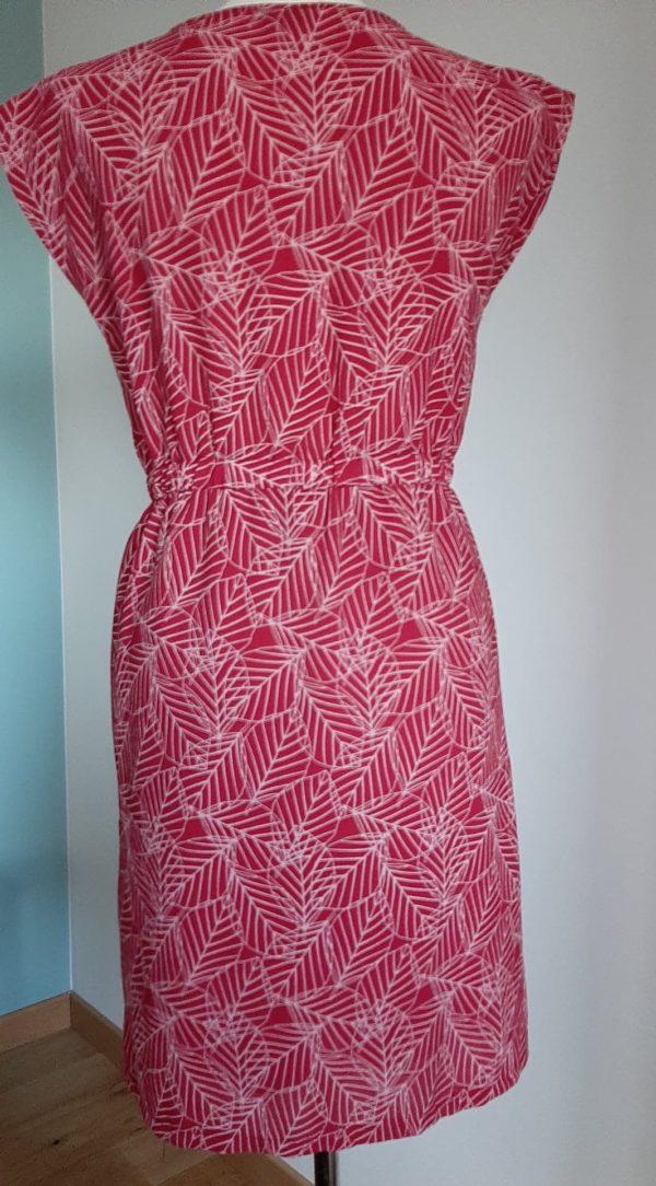 Retro-2dehands-rood-jurk-voorkant