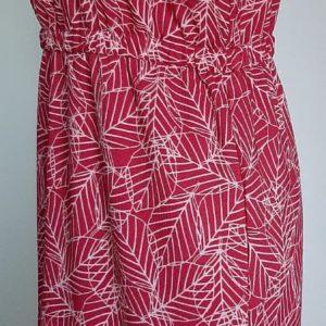 Retro-2dehands-rood-jurk-zijkant