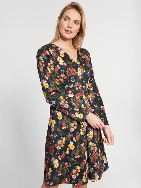 wowtogo-retro-jurk-donder-bloemen-voor-detail