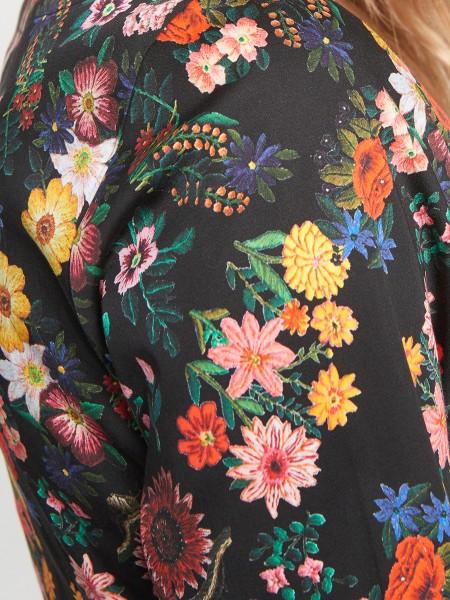 wowtogo-retro-jurk-donker-bloemen-detail