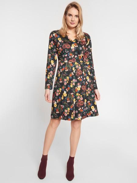 wowtogo-retro-jurk-donker-bloemen-voor