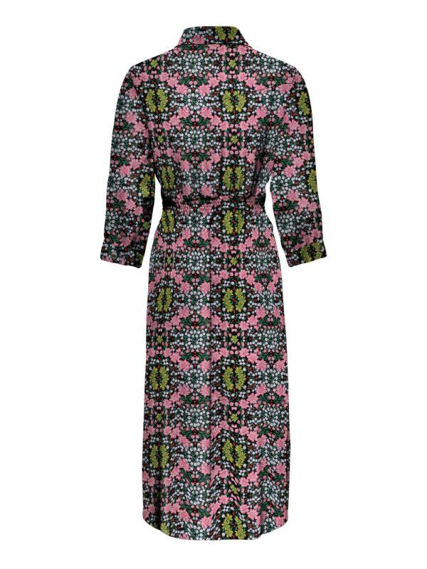 Retro-Only-jurk-driewkart-lang-floral-pink-achter