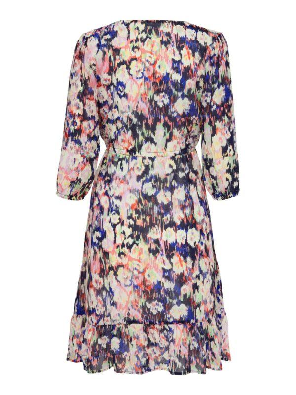 Retro-Only-jurk-pastel-multi-print-achter