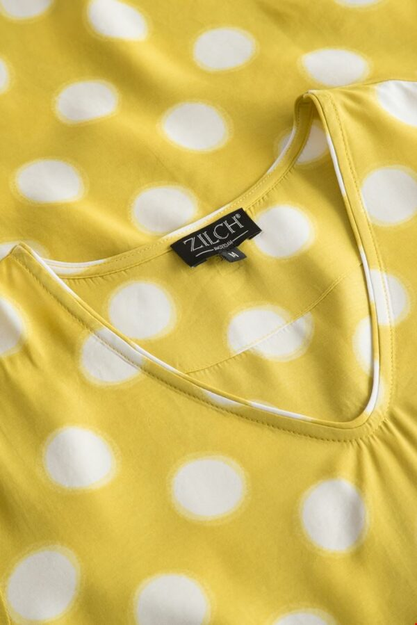Retro-Zilch-jurk-eclipse-lime-dress-detail