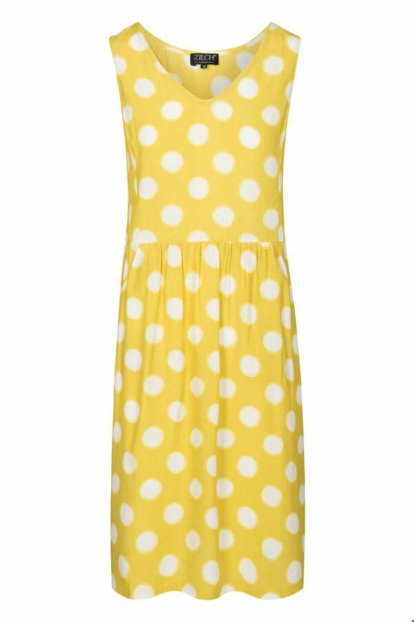 Retro-Zilch-jurk-eclipse-lime-dress-voor
