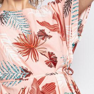 Retro-world-fashion-jurk-tropical-salmon-model-detail