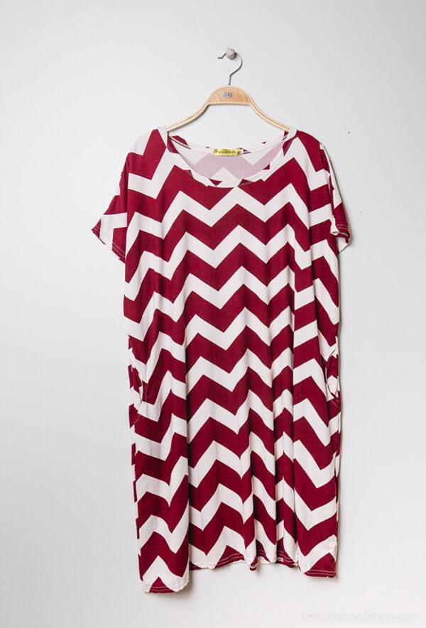 Retro-world-fashion-jurk-zig-zag-rood-kapstok1