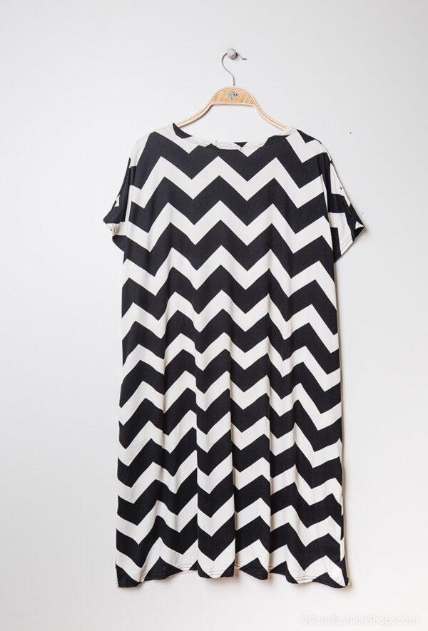 Retro-world-fashion-jurk-zig-zag-zwart-kapstok2