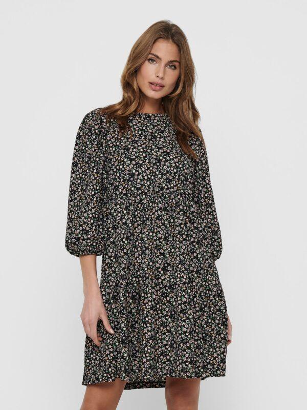 Retro-Only-jurk-kort-black-ditys-voor-model