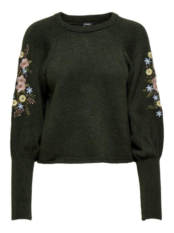 Retro-Only-donker-pullover-fantasie-voorkant