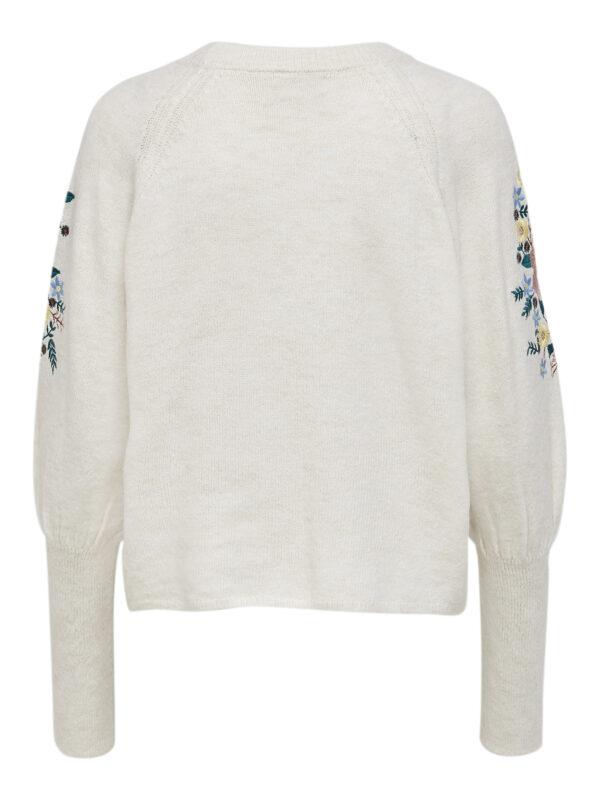 Retro-Only-pullover-ecru-voorkant